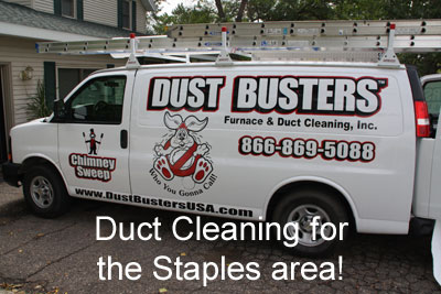 Duct Cleaning Staples